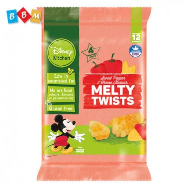 Sweet Pepper & Cheese Flavour Melty Twist Puffed Corn