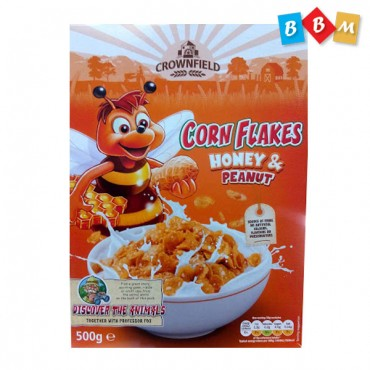 CrownField Corn Flakes honey & Peanut