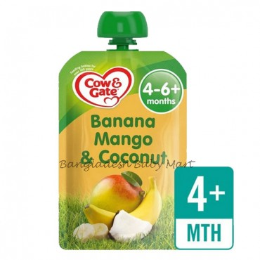 Cow & Gate Banana Mango & Coconut