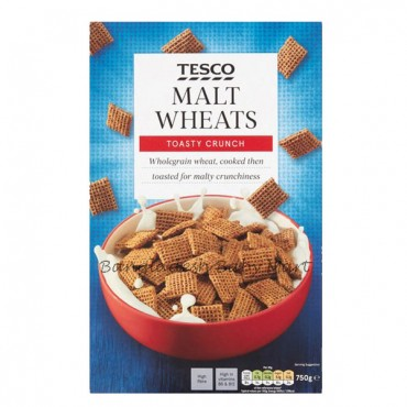 Tesco Malt Wheats Toasty Crunchy