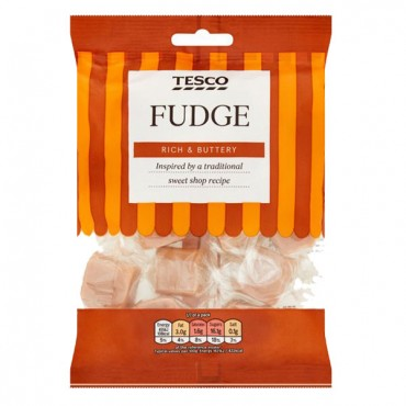 Tesco Fudge Rich & Buttery
