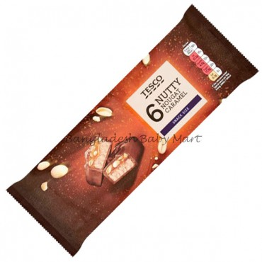 Tesco Nutty Nougat Caramel