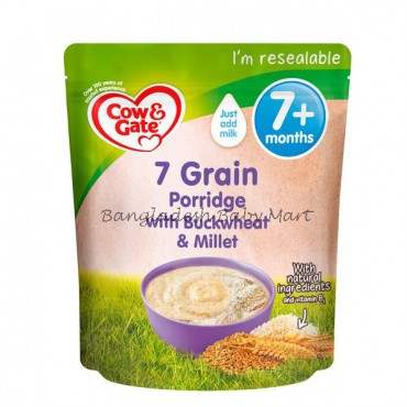 Cow & Gate 7 Grain Porridge with Buckwheat & Millet