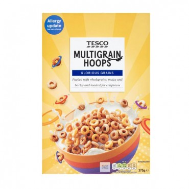 Tesco Multigrain Hoops