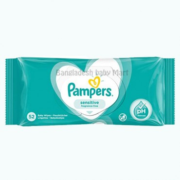 Pampers sensetive fragrance-free wipes