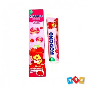Kodomo Baby Tooth Paste Strawbwrry Gel  40gm