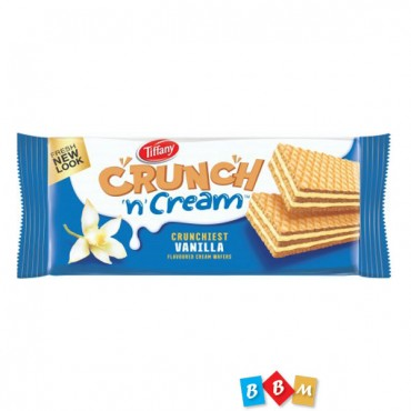Tiffany Crunch n Cream Vanilla Flavoured Wafer