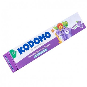Kodomo Toothpaste Grape Flavor