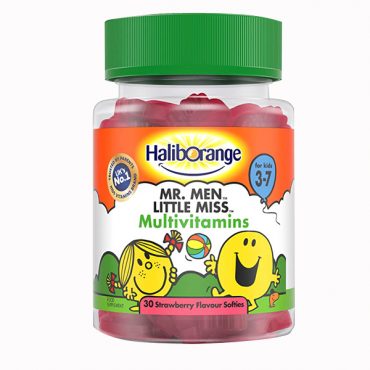Haliborange  Mr. Men Little Miss Multivitamins Strawberry Softies