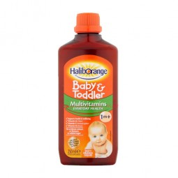 Halib Orange baby & toddler Multivitamins Everyday Health Liquid